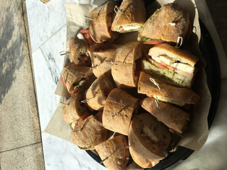 h-catering sandwich